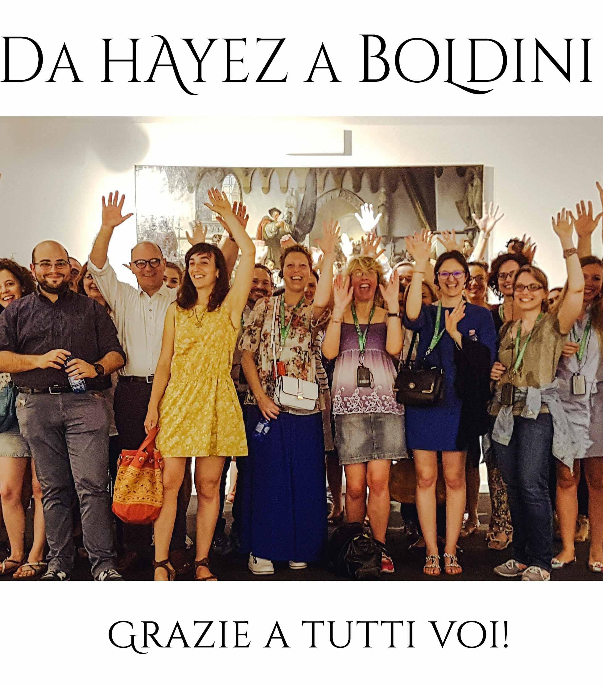 """GRAZIE A TUTTI I 50.917 VISITATORI DELLA GRANDE MOSTRA """"DA HAYEZ A BOLDINI""""!"""