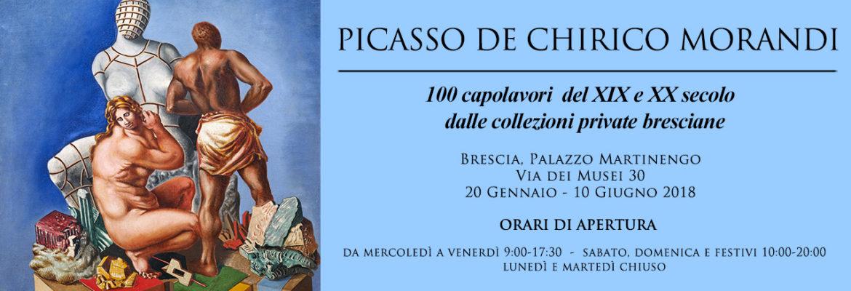 Picasso, De Chirico, Morandi